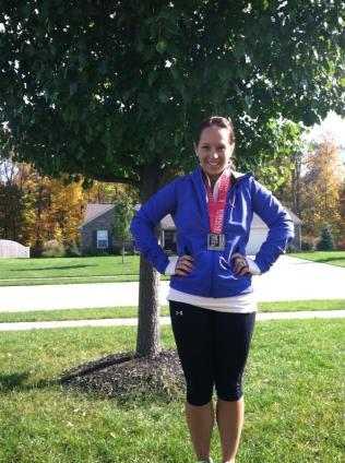 Indianapolis Monumental Half Marathon 2013