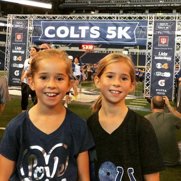 Colts5K Finish Line