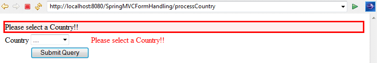 SpringMVC_DropdownExample_Validation