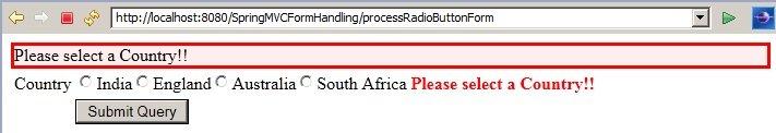 SpringMVC_RadioButtonExample_Validation
