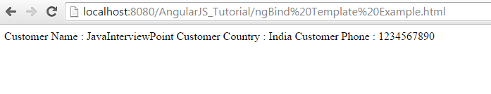 ngBindTemplate Example