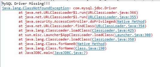 Difference Between ClassNotFoundException Vs NoClassDefFoundError