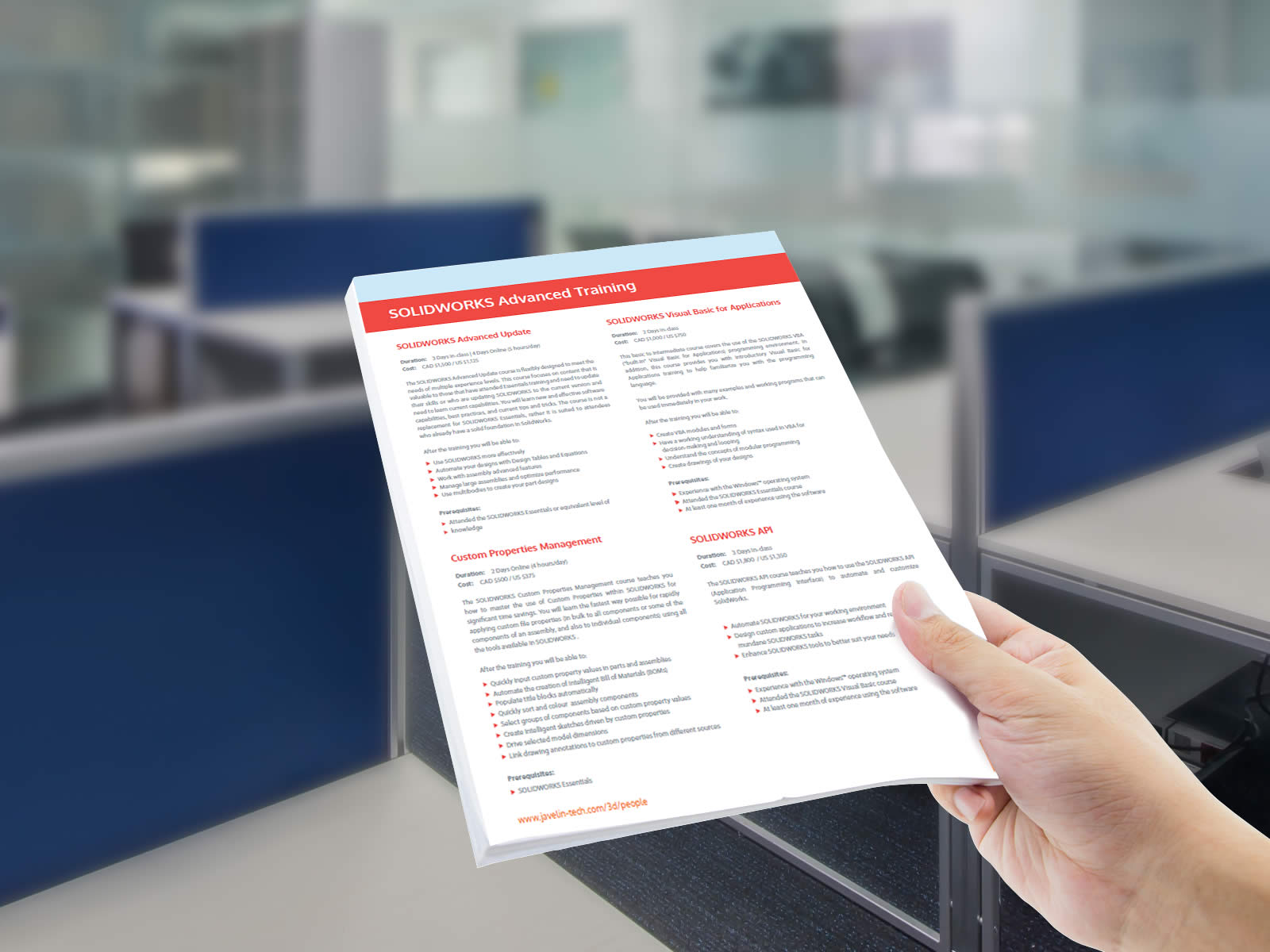 Solidworks Training Pricing And Course Catalogue