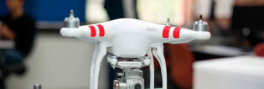 Un dron para desminar el país
