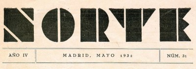 Revista Norte: Mayo de 1932