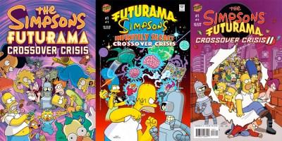 Futurama - Simpsons Crossover