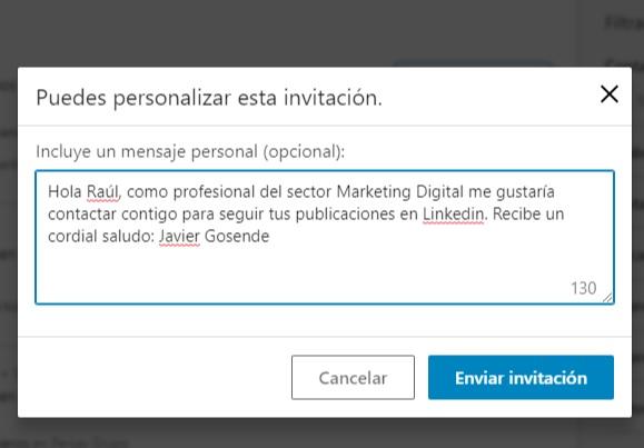mensaje contacto linkedin 1