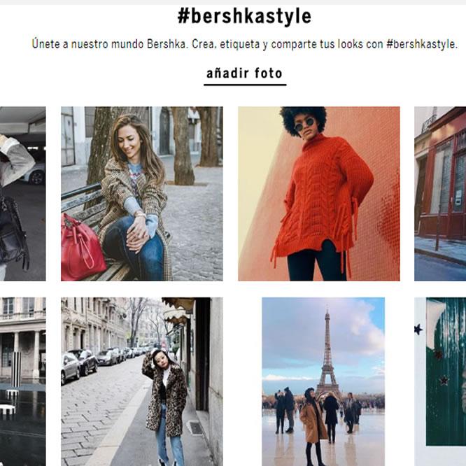 tactica del lookbook con imagenes de usuarios marketing offline online