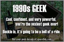 Soy un geek de los 90