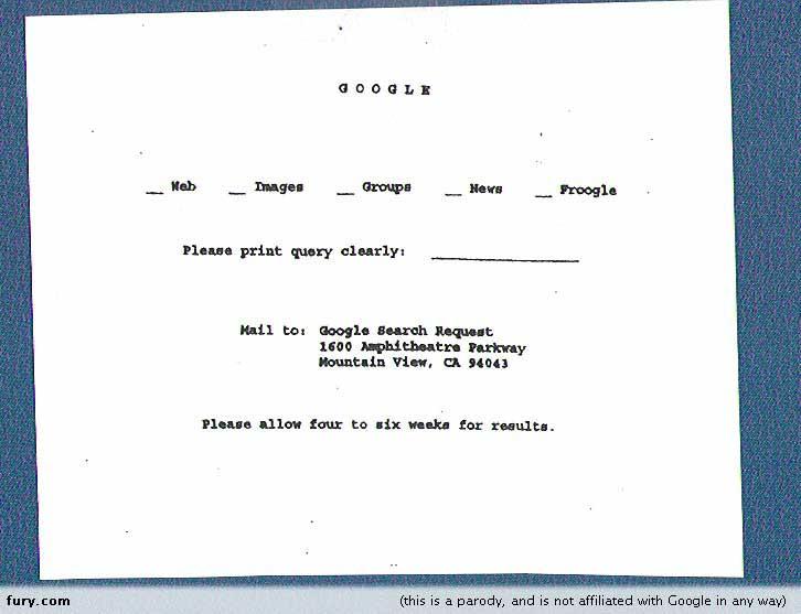 Así era Google en los 60