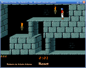 Prince of Persia por web