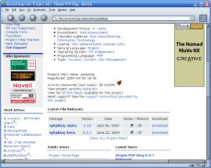 Instalación de Simple PHP Blog (Tutorial parte II)