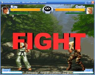 Street Fighter por web (y otros)