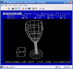 3D en el Spectrum: VU-3D