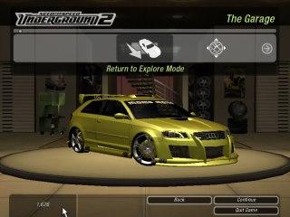 Proyecto Audi A3 NFSU2