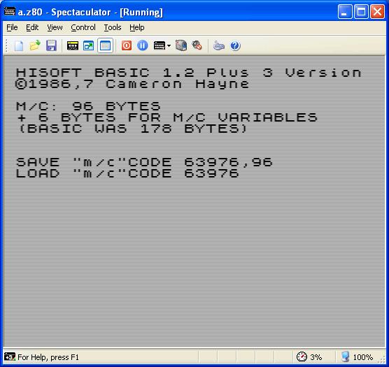 Hisoft Basic