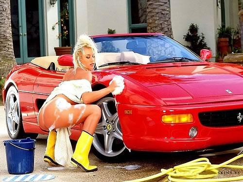 Cómo lavar un Ferrari