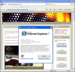 Windows Internet Explorer 7