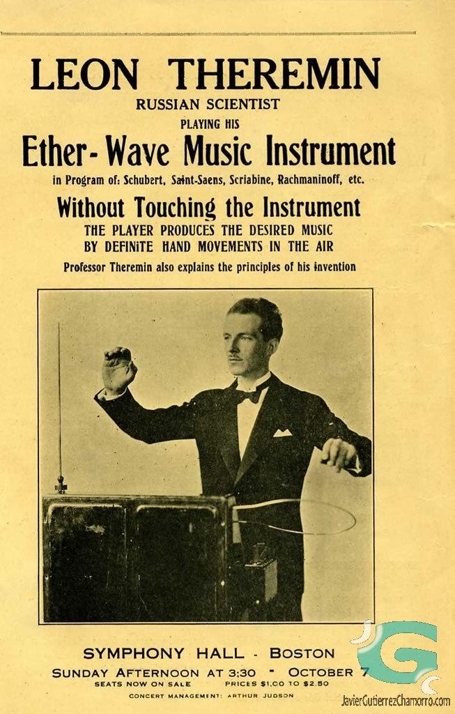 El Theremin. El origen de la música electrónica