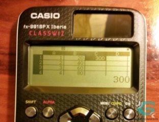 La hoja de cálculo de la FX-991SPX / FX-570SPX