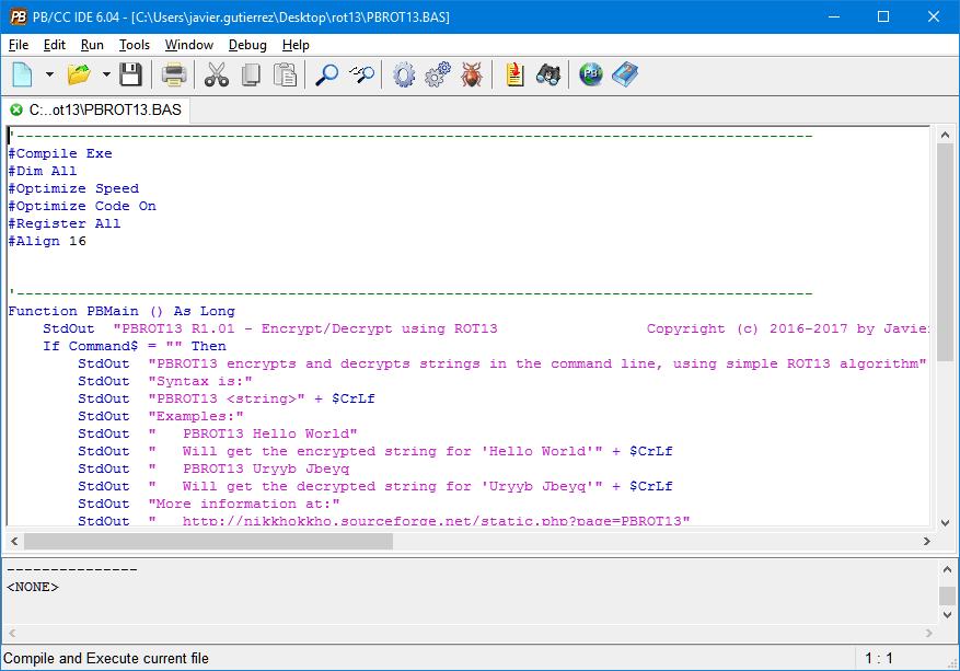 Ejemplo con PB/CC
