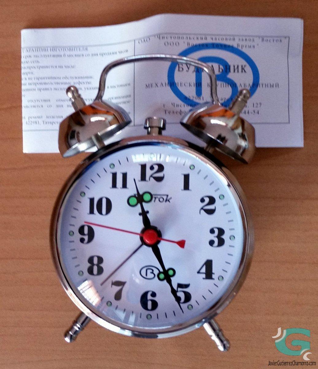 Despertador Vostok M801.1