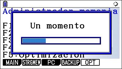 Casio fx-CG50 (Operaciones)