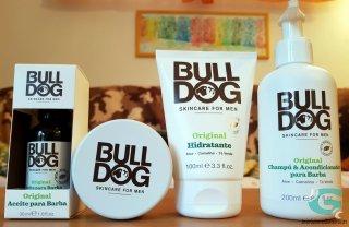 Bulldog cuidado de la barba