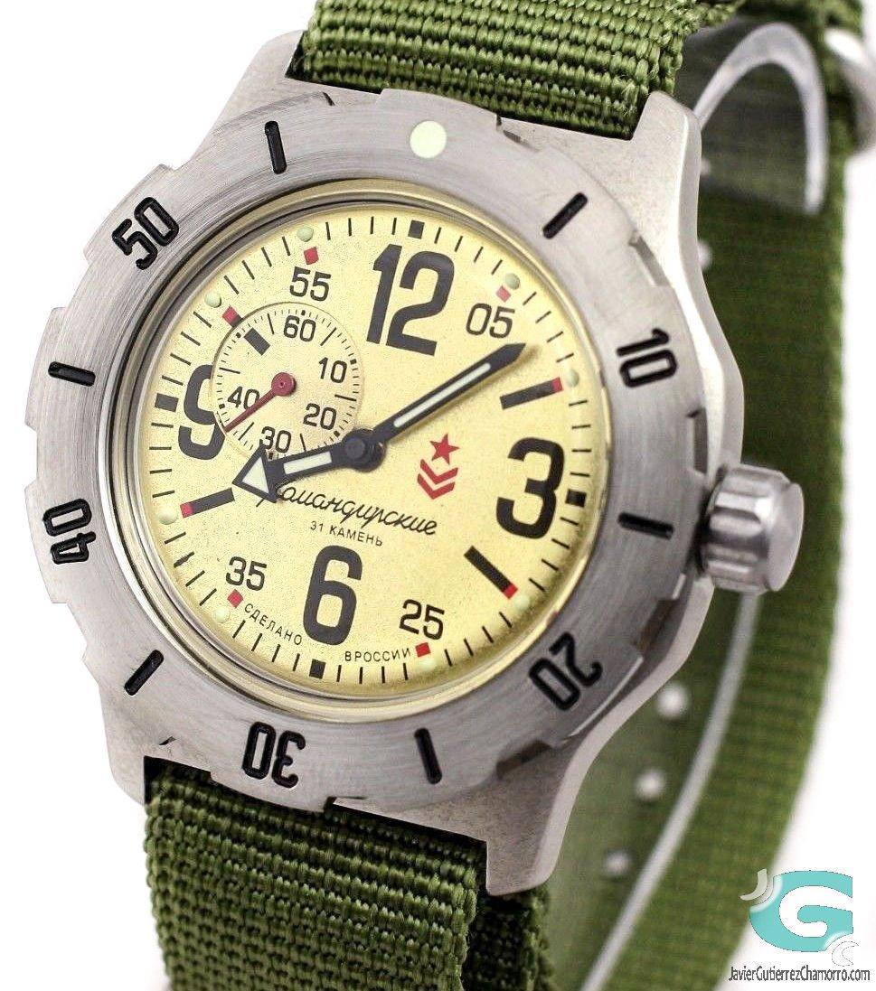 Relojes Vostok en Trazos del Tiempo
