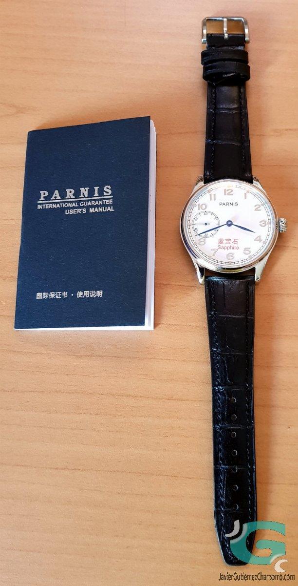 Parnis Classic S9 Blue