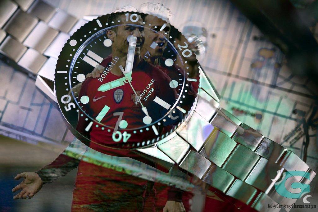 Un reloj para cada partido de octavos, Rusia 2018 por Tiempo Dinámico