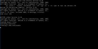 Watcom C++ y Sieve para DOS
