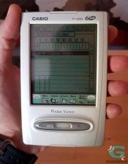 Casio PV-S660 Pocket Viewer (Introducción)