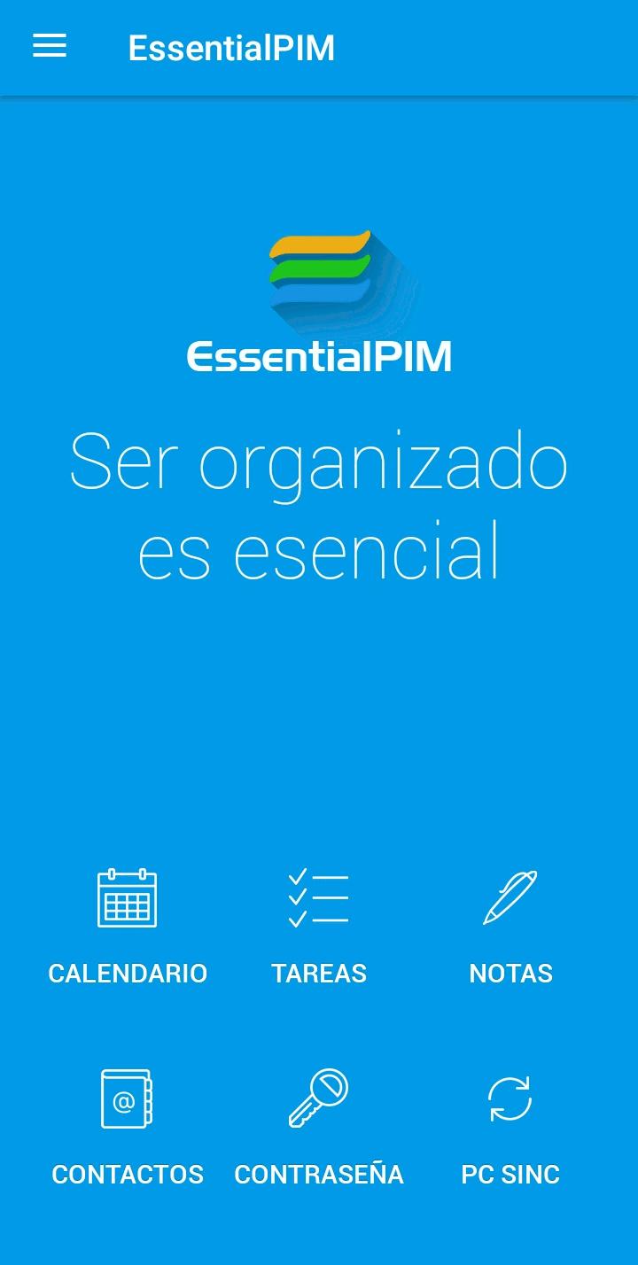 EssentialPIM para Android y Windows
