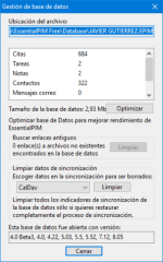 EssentialPIM para Android y Windows