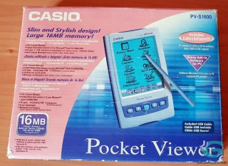 Casio PV-S1600 Pocket Viewer