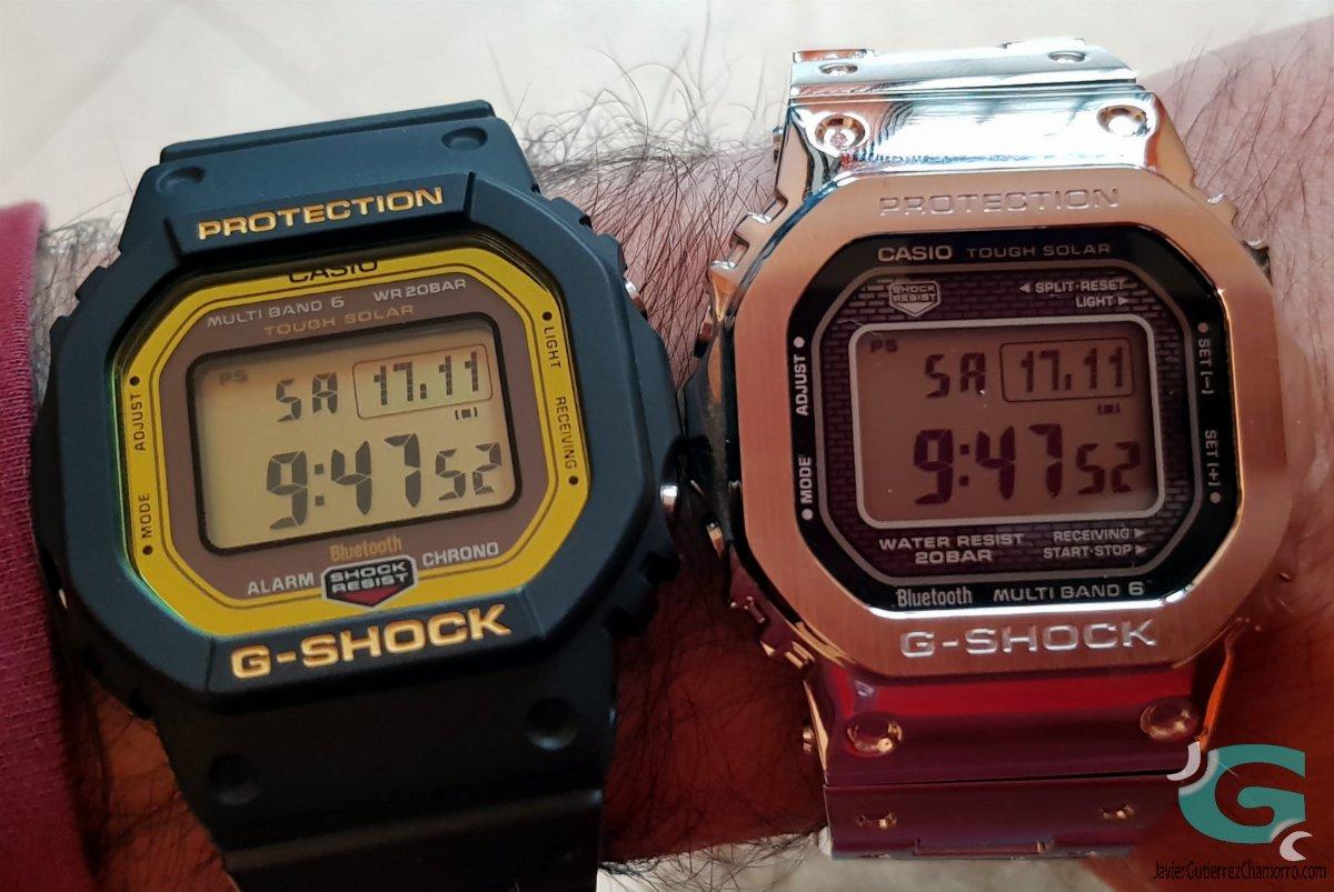 Casio Al Gmw Y Comparativa Del B5000d5000 Gw B5600frente stQdChr