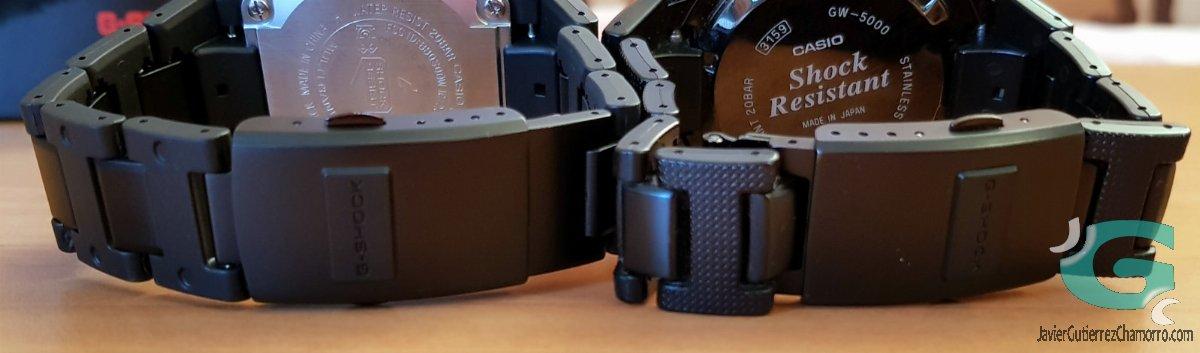 Comparativa del Casio GW-B5600 (frente al GMW-B5000D, GW-5000 y GW-M5610)