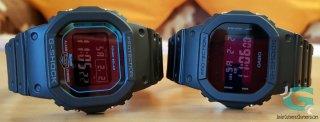Los invertidos de la serie 5 de Casio (DW-5600BB y GW-B5600-2)