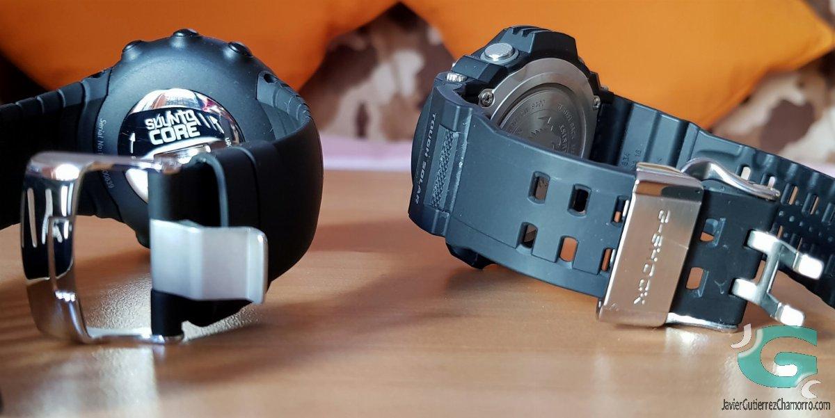 """Suunto Core contra Casio GW-9400 """"Rangeman"""""""