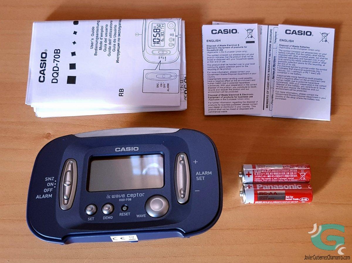 Despertador Casio DQD-70B