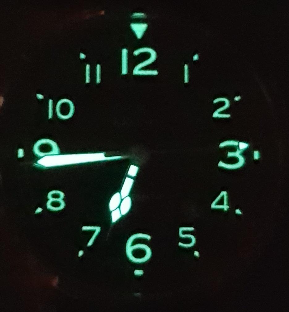 Kronos Vintage Automatic Black