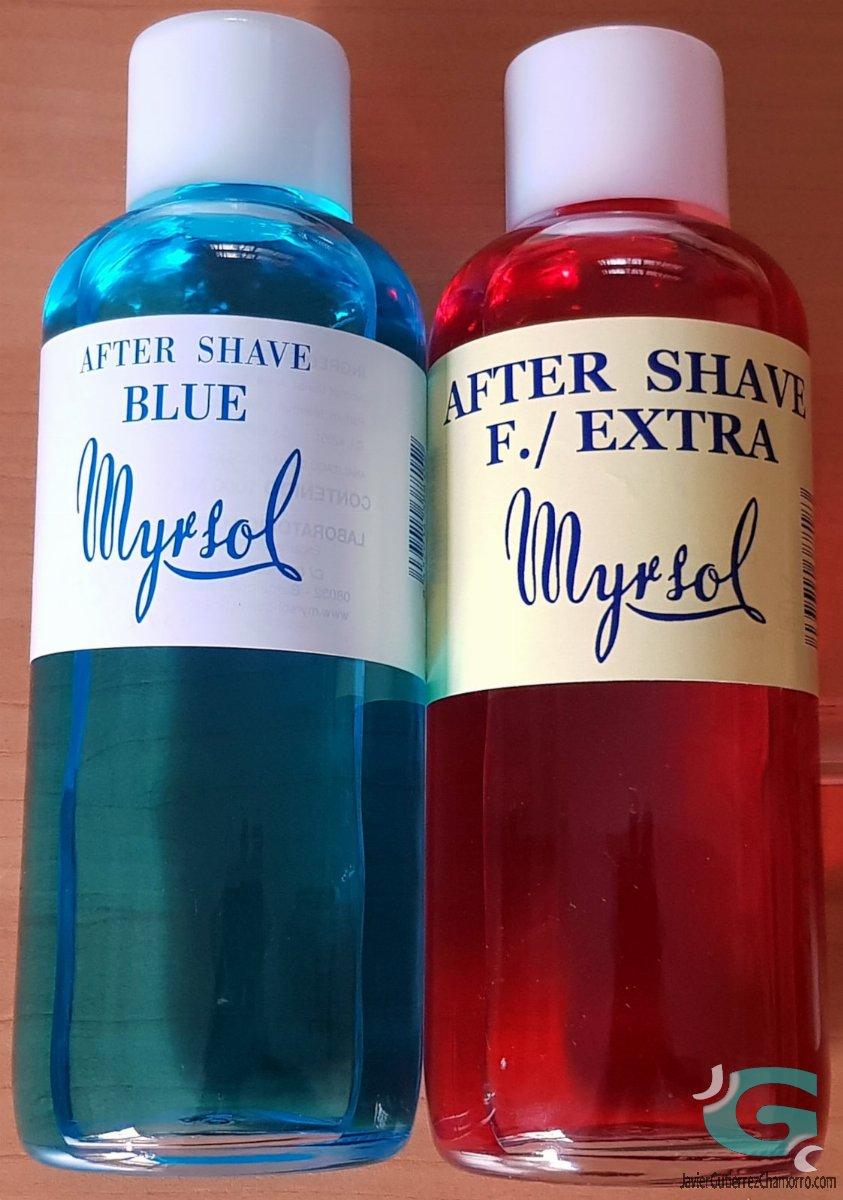 Myrsol Blue y Myrsol F/Extra