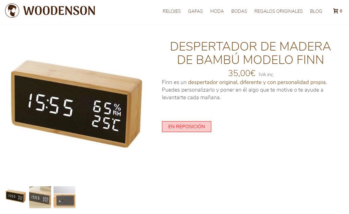 Los relojes Woodenson de Aliexpress