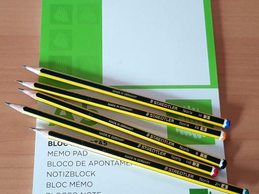 Lápices Staedtler Noris. El clásico en material de oficina y escolar