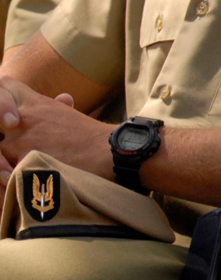 Cuando los militares pasaron de llevar relojes de lujo a llevar Casio