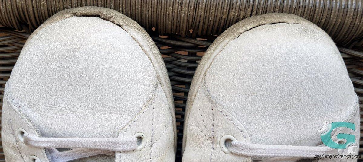 ¿Cómo envejecen unas zapatillas Victoria?