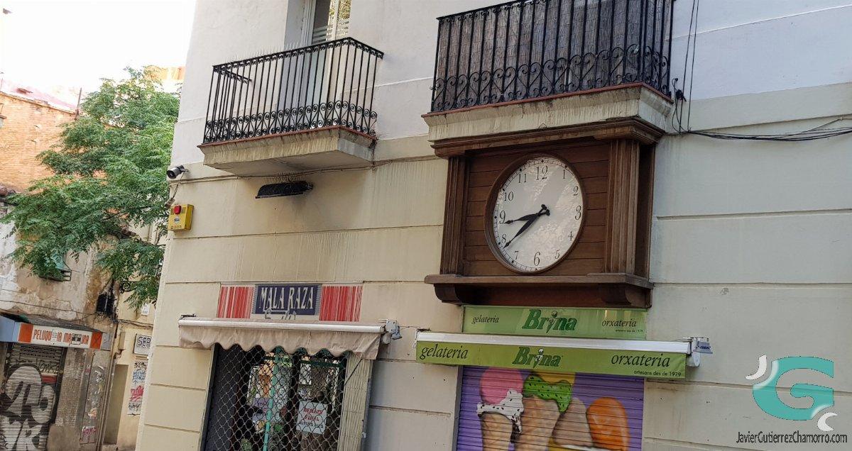 Relojes parados