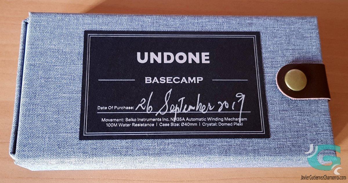 Undone Basecamp
