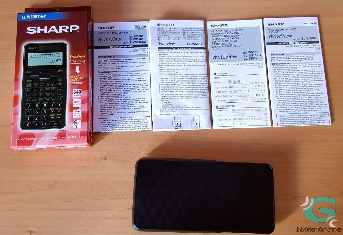 Sharp W506T vs HP 300s+ vs Casio fx-991SPX
